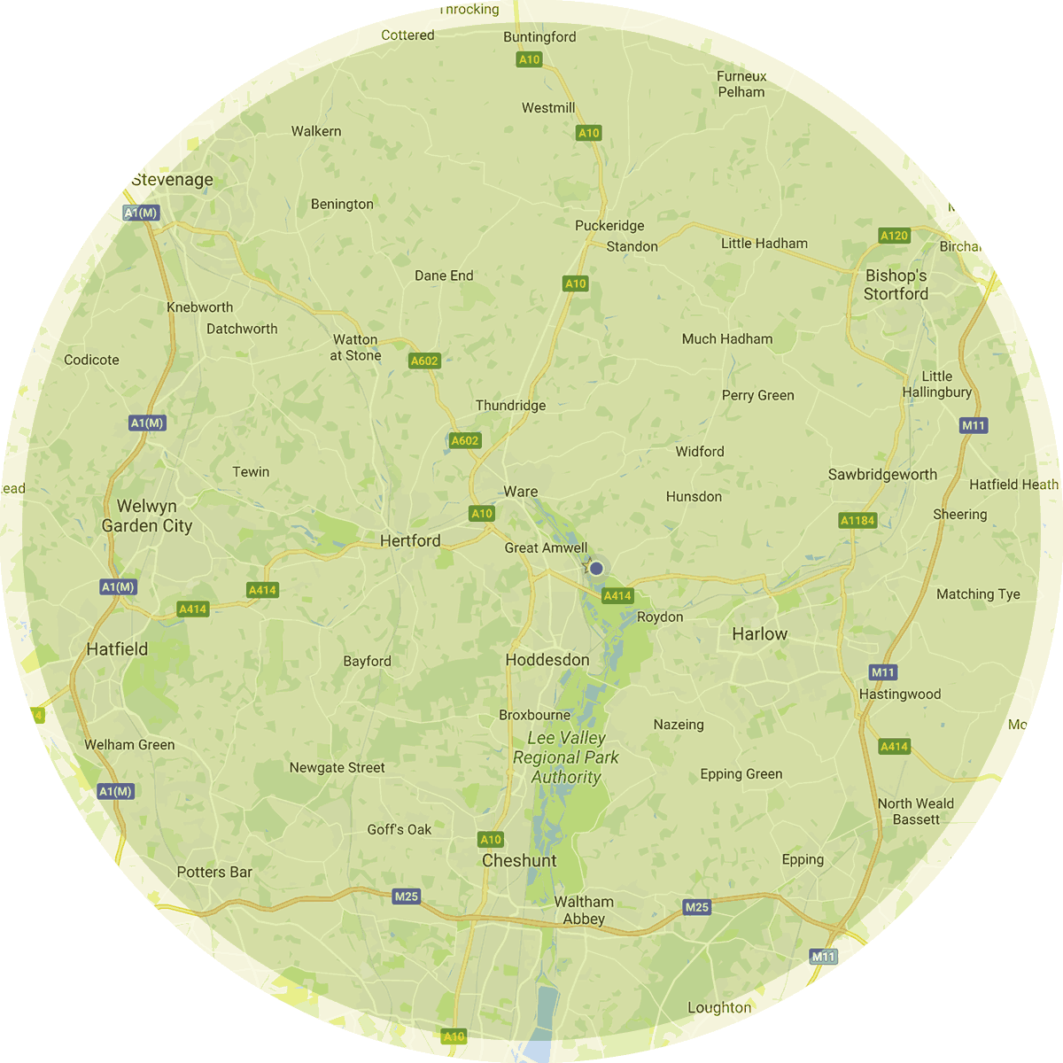 Areas covered - ware, Hertford, bishops Stortford, welling garden, epping, Harlow, stevenage, Hatfield, Sawbridgeworth, Hoddesdon, broxbourne, Nazing, Waltham Abbey, Cheshunt